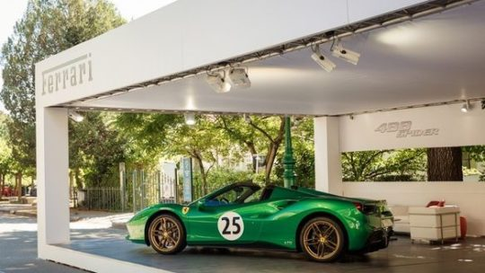 Salon de l'auto en plein air de Turin